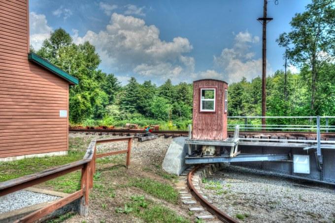North Creek Station Complex  20:  Train Turntable