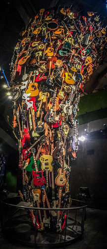 Guitar Sculpture - Guitarnado