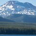 South Sister from Elk Lake, Oregon
