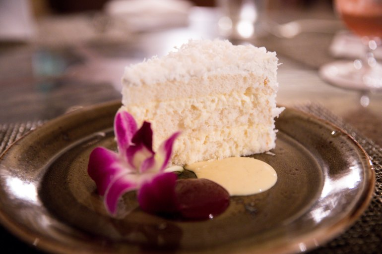 house without a key Halekulani's Coconut Cake