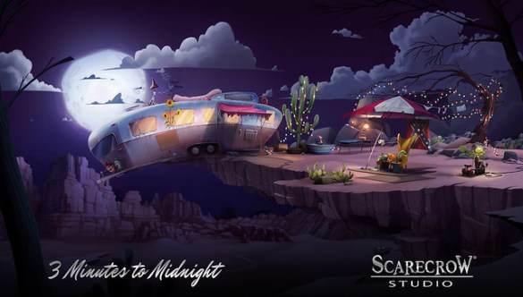 Point-and-Click Graphic Adventure (3 Minutes to Midnight) From Scarecrow Studio