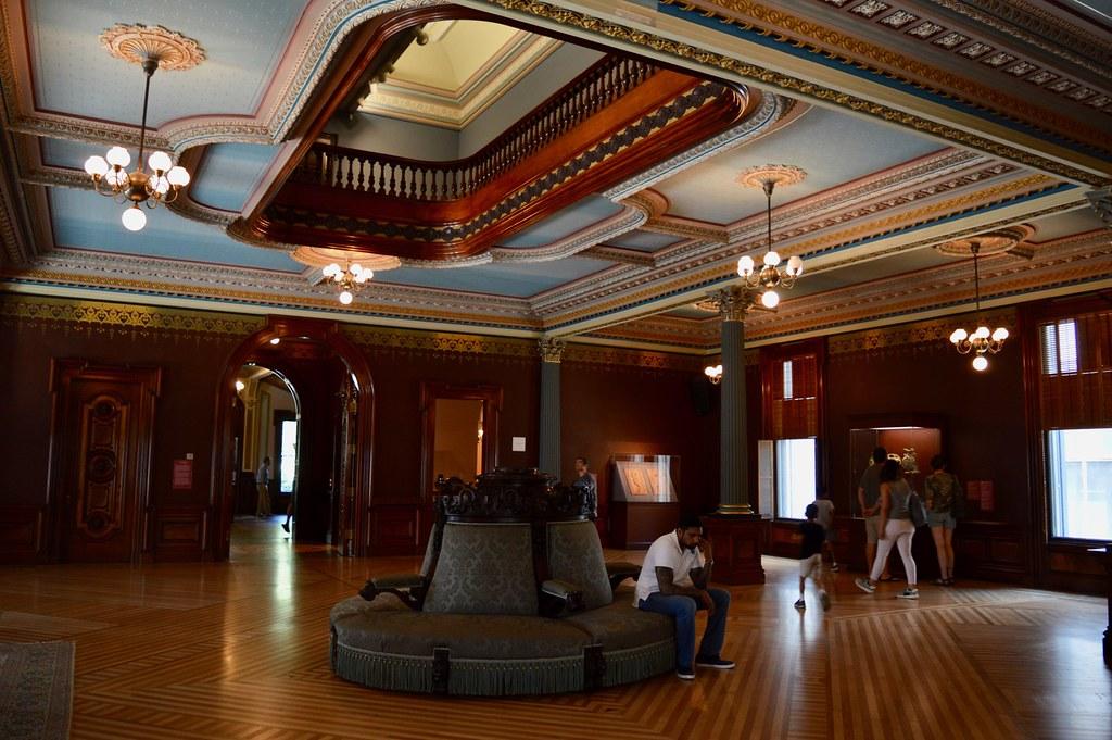 Classic Decor in Old Crocker Art Museum