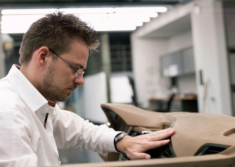 BMW interior designer Christian Bauer (2011)