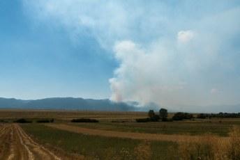 Want de volgende dag ging ik op weg naar een vriend in Kroatië terwijl er overal bosbranden woedden.