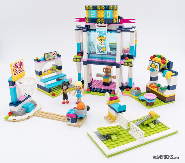 REVIEW LEGO Friends 2018 - LEGO 41338 Stephanie's Sports Arena