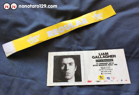 LIAM GALLAGHER Live in Bangkok 01