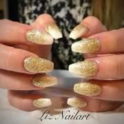 lovely prom nail art design
