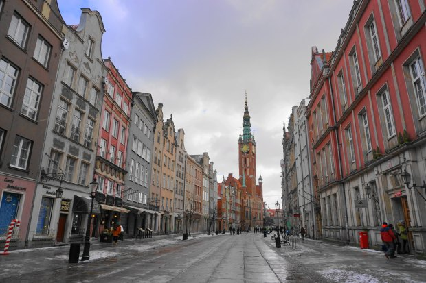 Ulica Długa and Gdańsk Main Town Hall