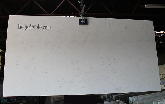New Carrara Quartz Slabs For Sale