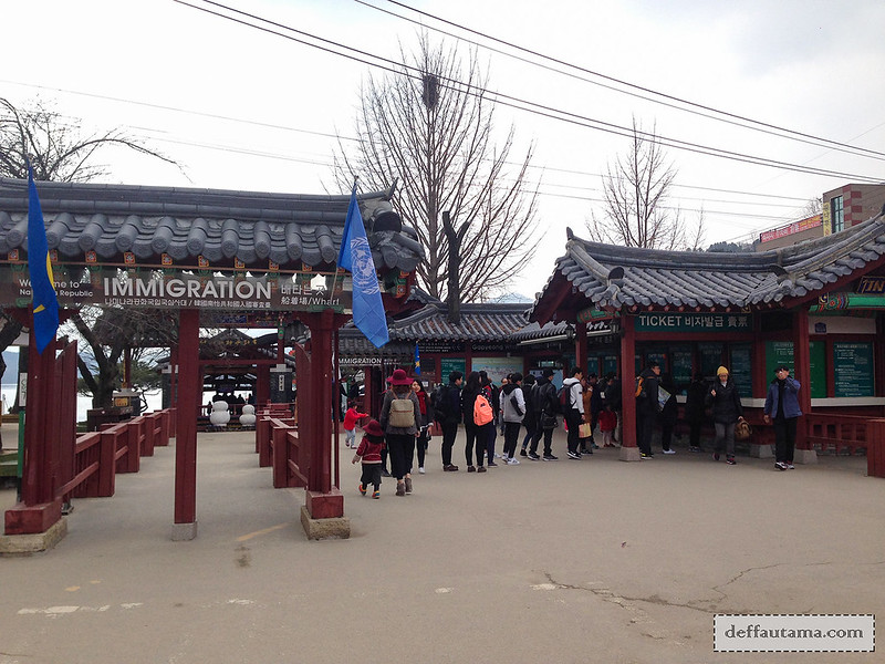 Nami Island - Ticket Counter