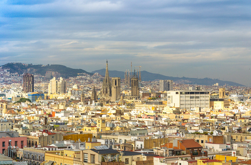Vista sul Barrio Gotico