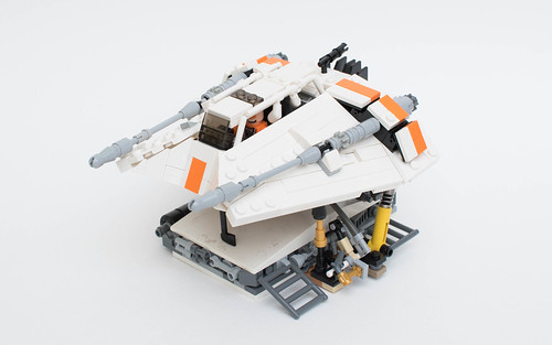 Star Wars T 47 Snowspeeder With Building Instructions Build Any Brick