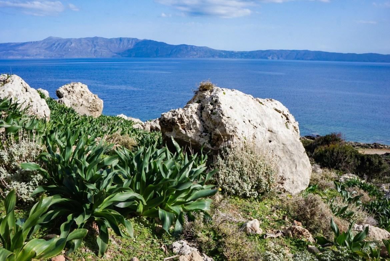 Reissuleskenä Kreetalla