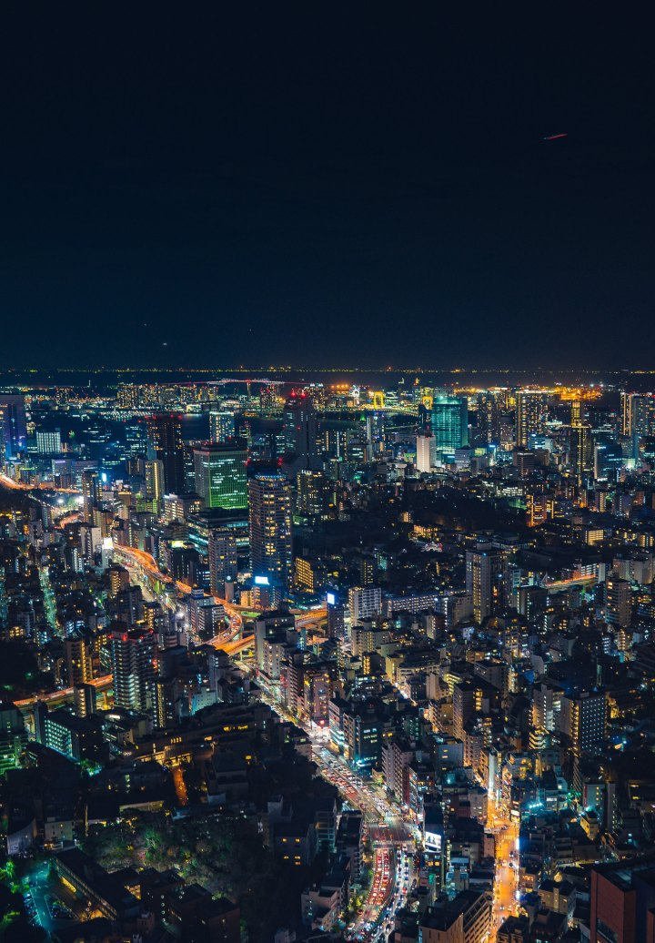 Night Glow of Tokyo