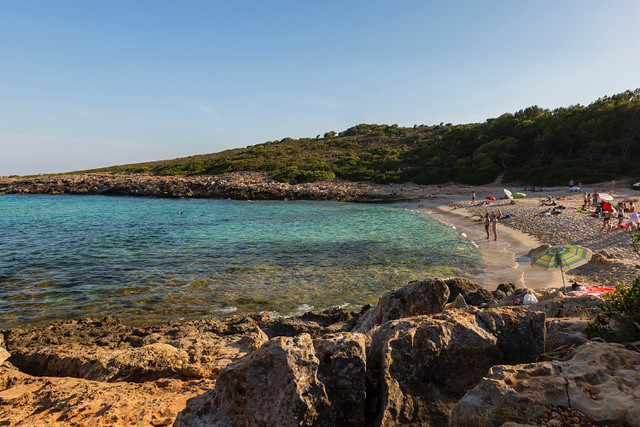 The best beaches in Mallorca: Cala Varques Mallorca