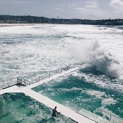 #bondi #pool #icebergs @sydney @visitnsw @australia #ilovesydney #sydney #summer #newsouthwales #wanderlust #travel #australia #seeaustralia #sydneyfolk #australiagram #sydneytravel #travel #guardiantravelsnaps #guardiancities #lonelyplanet #sydneylife #v
