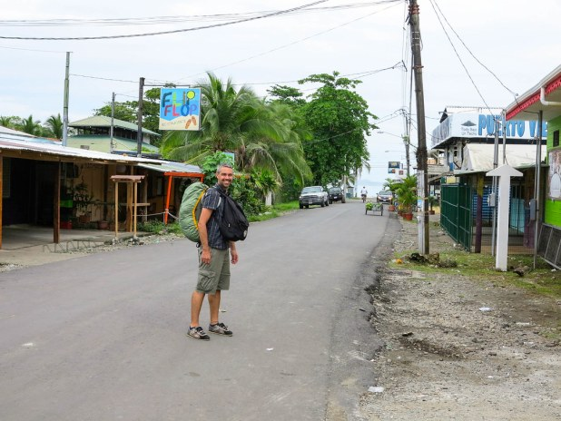 Llegada a Puerto Viejo de Talamanca