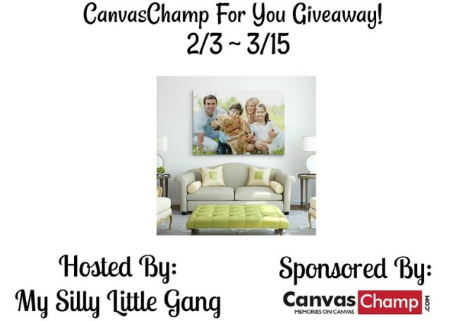 CanvasChamp For You Giveaway!