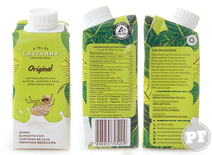 Leite Vegetal Original da A Tal Castanha por PratoFundo.com