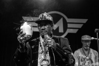 Lee Scratch Perry + Subatomic Sound System @ Motorco Music Hall in Durham NC on January 20th 2018