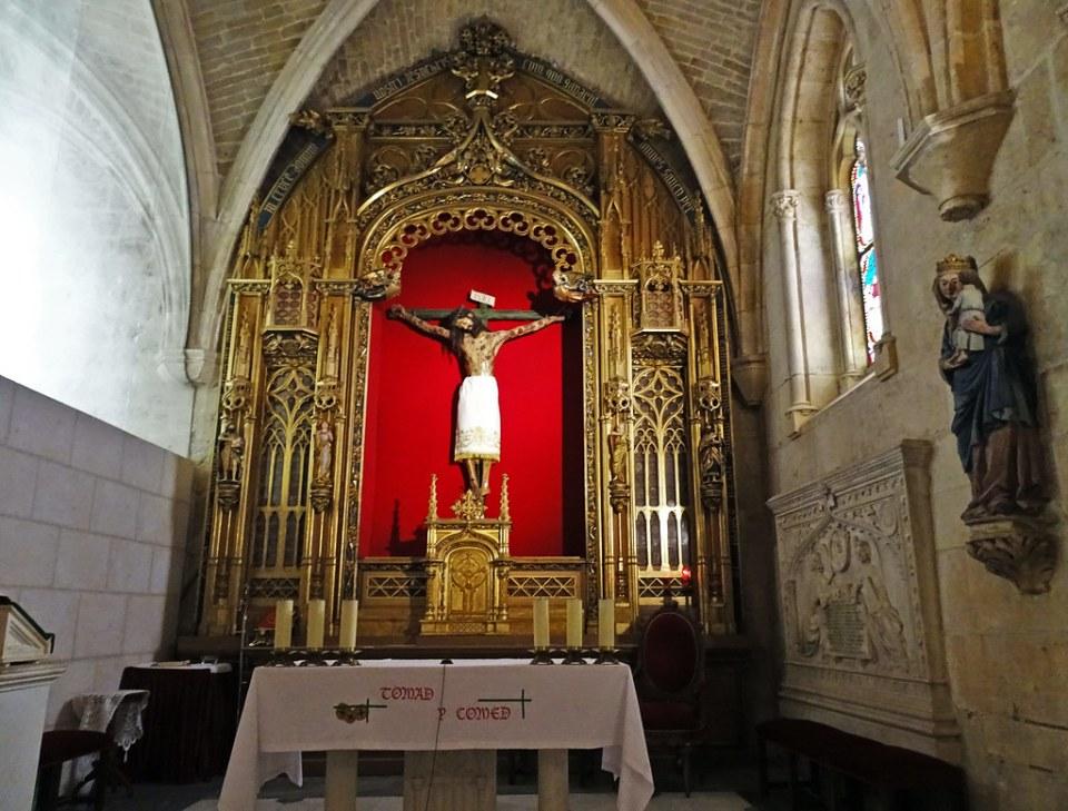 Catedral de Burgos Altar e imagen Capilla Santisimo Cristo de Burgos 01