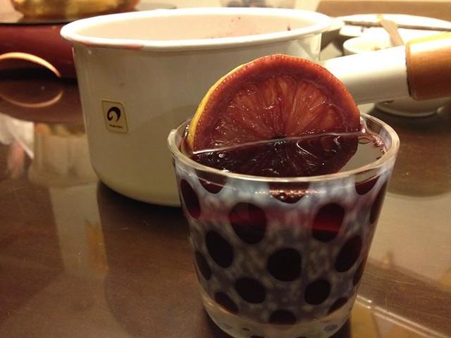 【手帖365】熱紅酒 | 貓在家裡