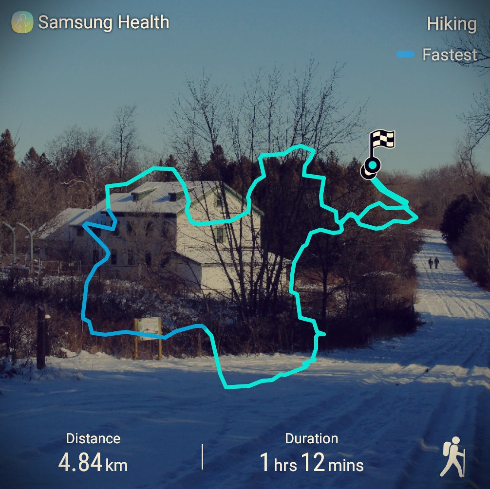 Bruce's Mill Conservation Area route