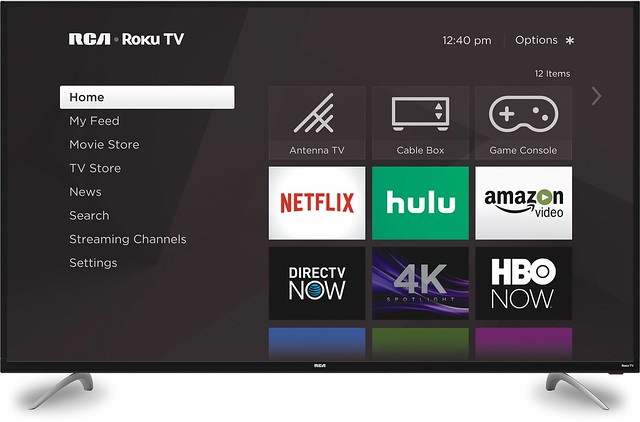 65_ Smart 4K UHD RCA Roku TV
