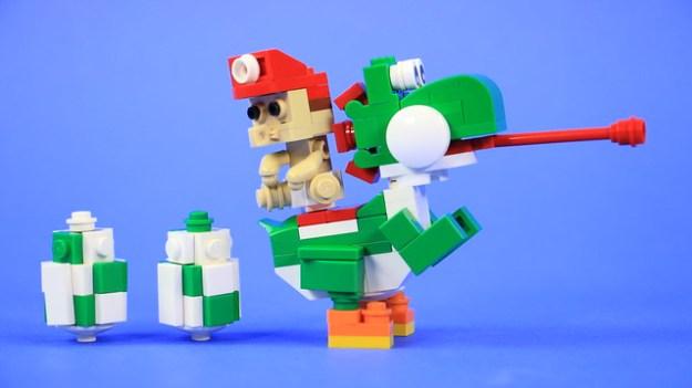 乐高和Baby Mario