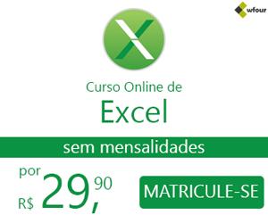 Curso Online de Excel → Desenvolvendo uma Empresa