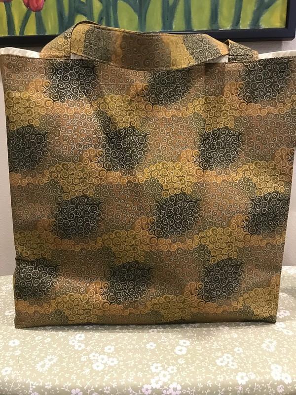 Vintage panel bag project