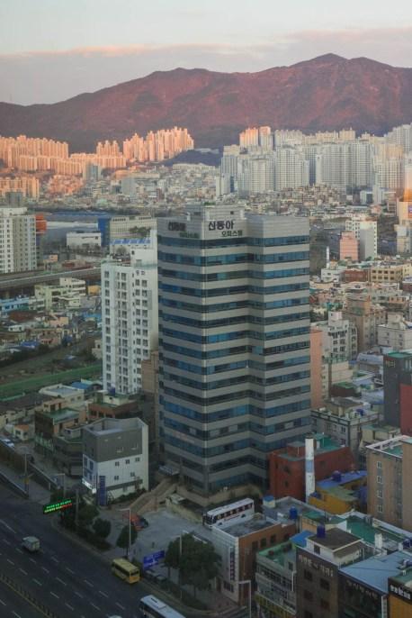 Lotte Hotel Busan view