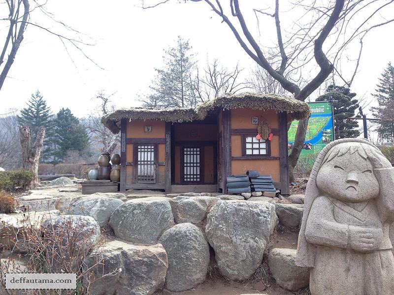 Nami Island - Korean Old House