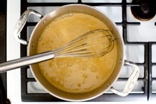 re-melt the butterscotch