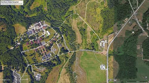 Northern State Hospital - Google Earth