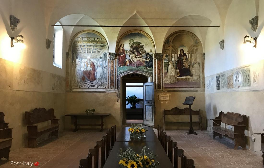 Sant'Anna in Camprena, Toscana