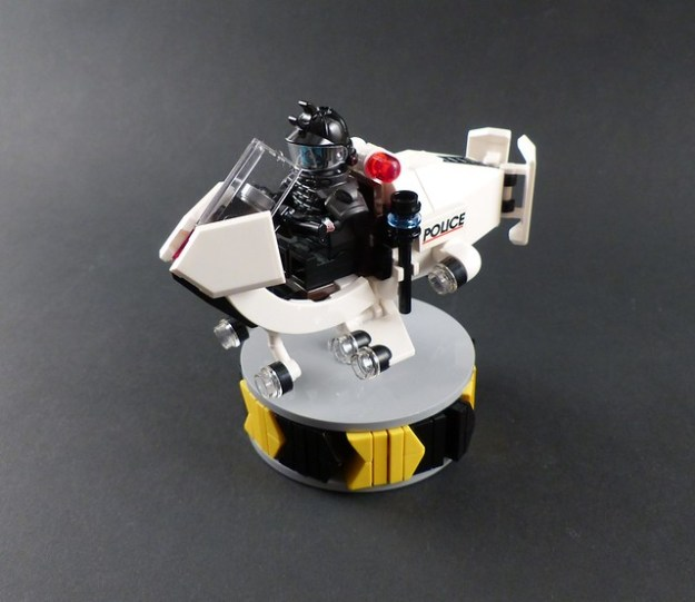 """Pouncer"" Police Speeder Bike"