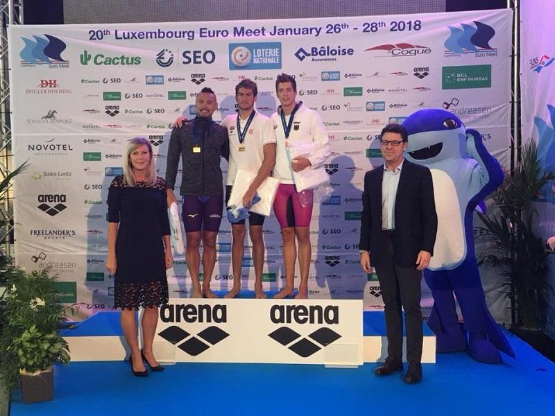 Euro Meet 2018: tra i big d'Europa quattro lampi d'azzurro!