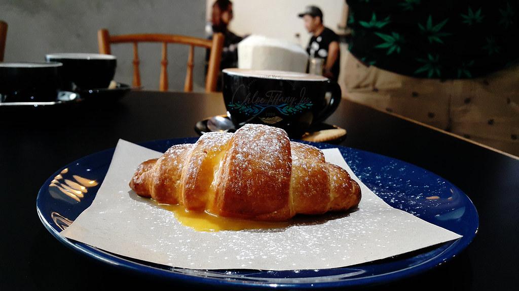 Salted Egg Croissant, Ampersand Specialty Coffee, Bandaran Berjaya, Kota Kinabalu, Sabah, Malaysia, Chloe Tiffany Lee