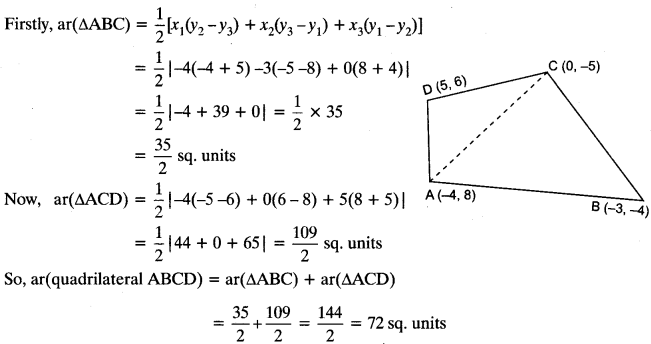 Important Questions for Class 10 Maths Chapter 7 Coordinate