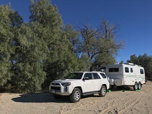 Borrego Springs - Our campsite