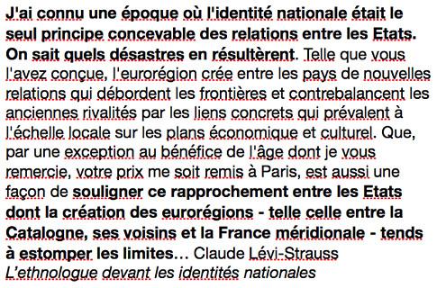 18a24 Claude Lévi Strauss El etnólogo y las identidades nacionales Uti 485