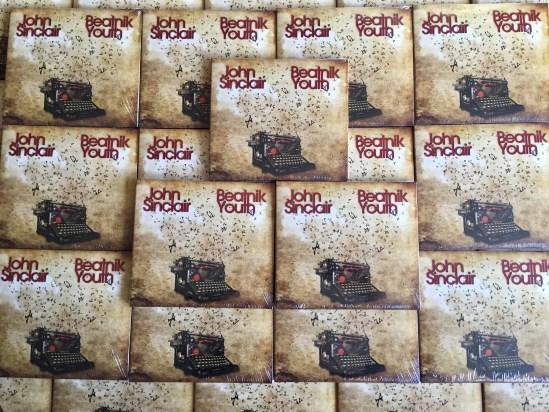 John Sinclair - Beatnik Youth CD display