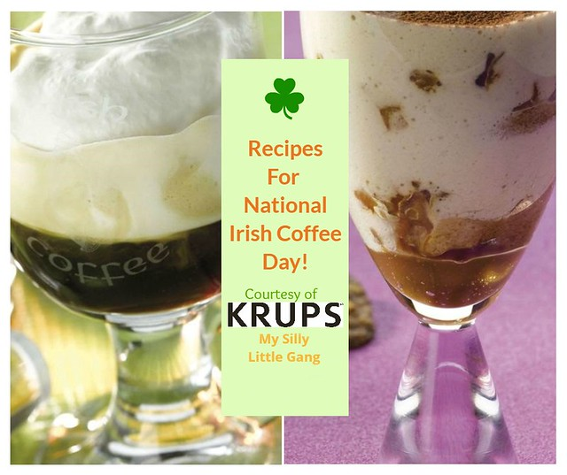 Recipes for National Irish Coffee Day 1/25