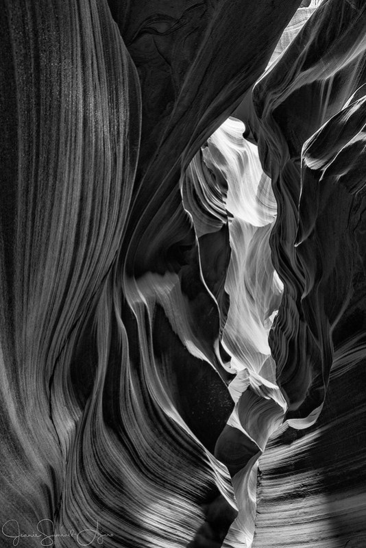 Antelope Canyon #1 by Jeanie Sumrall-Ajero