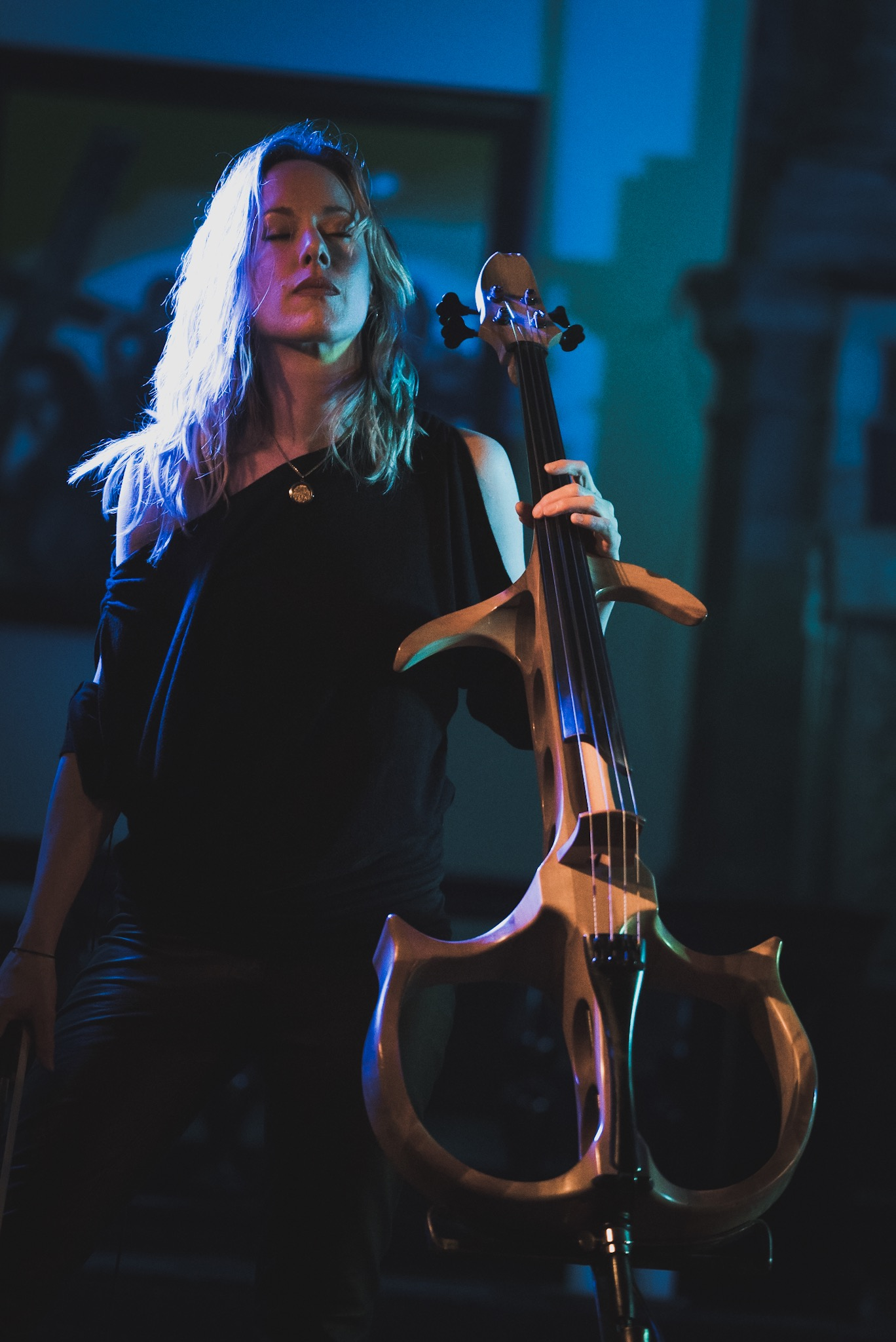 Jo Quail supporting Myrkur at St John On Bethnal Green