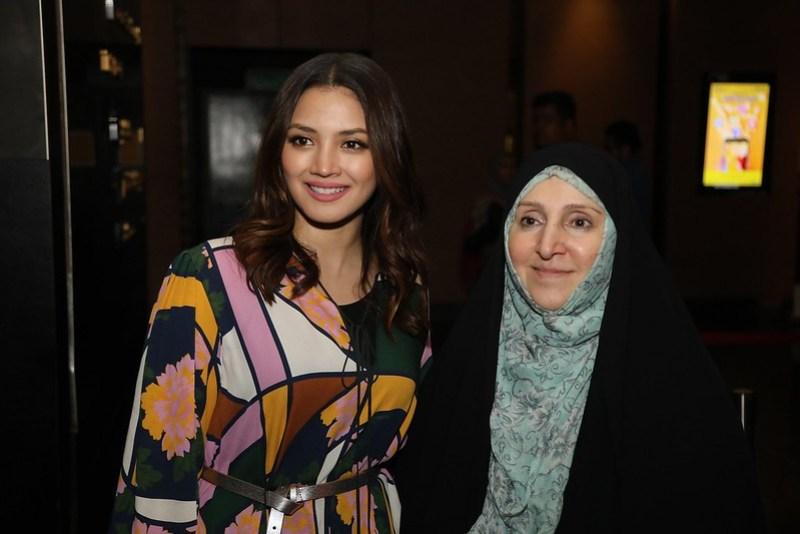 Janji Zehan mendapat sokongan sepenuhnya dari Kedutaan Iran di Malaysia. Hadir bersama adalah Duta Besar Iran - Madam Marzieh Afkham