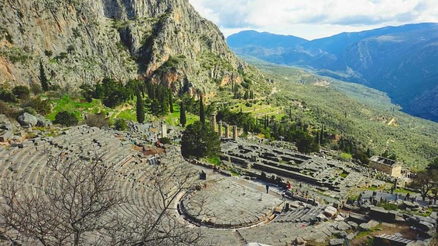 Delphi Mount Parnassus Greece (20 of 26)
