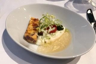 Büffelmozzarella / Tomate / Zwiebelkuchen