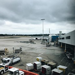 #waiting for #boarding the #a380 #moody #sky #airport @sydney @visitnsw @australia #ilovesydney #sydney #summer #newsouthwales #wanderlust #travel #australia #seeaustralia #sydneyfolk #australiagram #sydneytravel #travel #guardiantravelsnaps #guardianciti